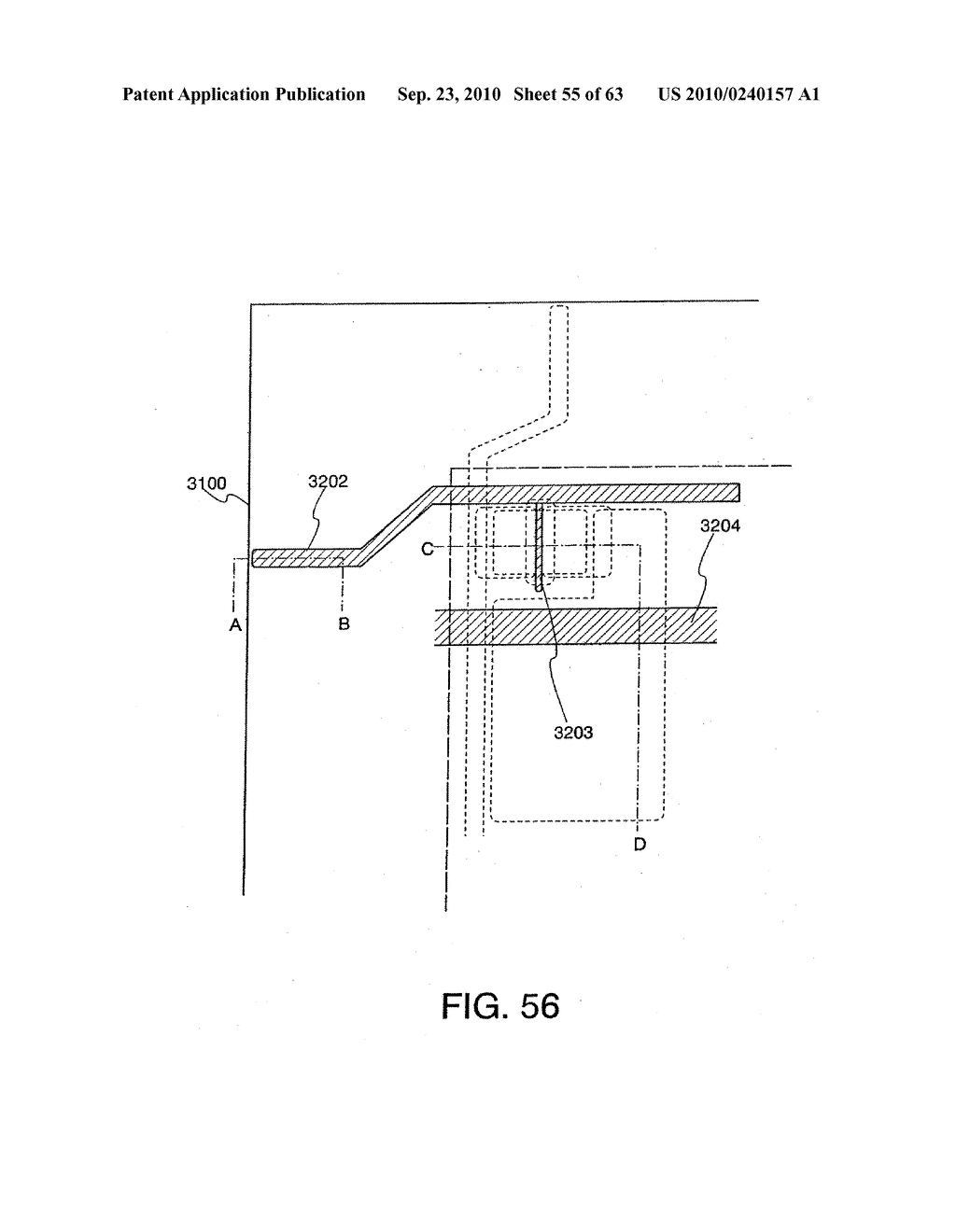 DISPLAY DEVICE, MANUFACTURING METHOD THEREOF, AND TELEVISION RECEIVER - diagram, schematic, and image 56