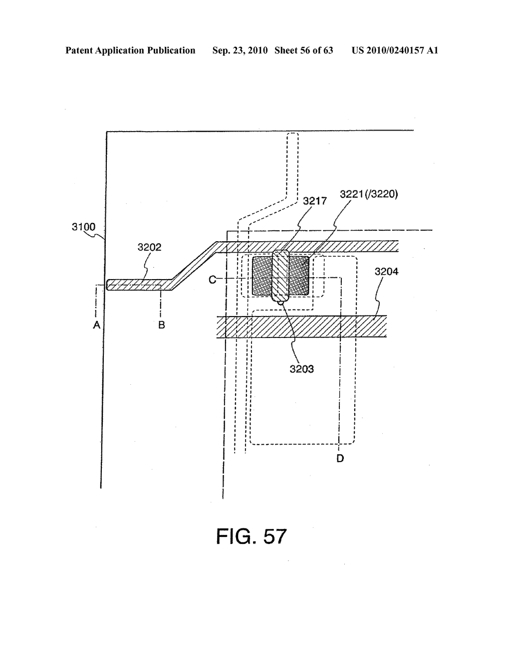 DISPLAY DEVICE, MANUFACTURING METHOD THEREOF, AND TELEVISION RECEIVER - diagram, schematic, and image 57