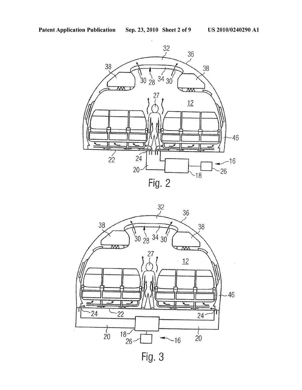 System And Method For Air Conditioning At Least One Partial Region Of An Airplane - diagram, schematic, and image 03