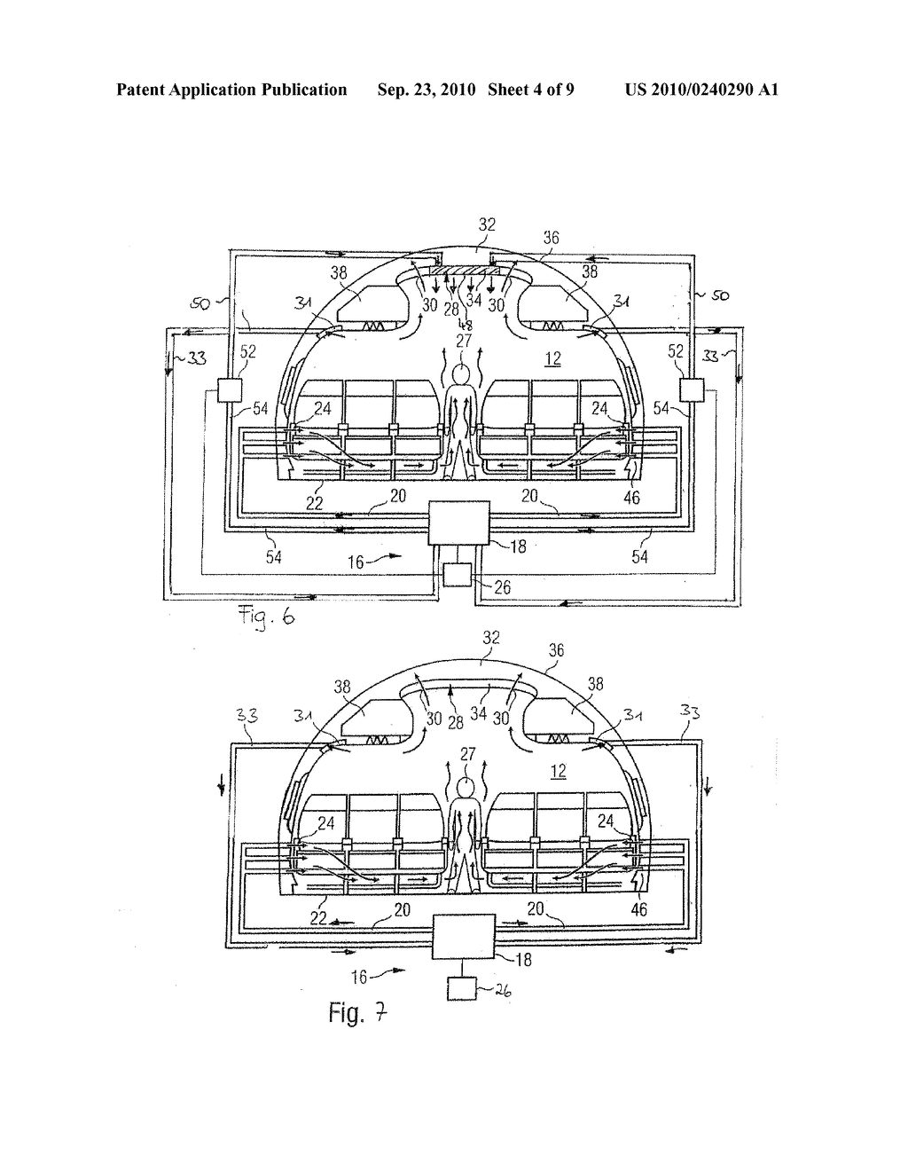 System And Method For Air Conditioning At Least One Partial Region Of An Airplane - diagram, schematic, and image 05