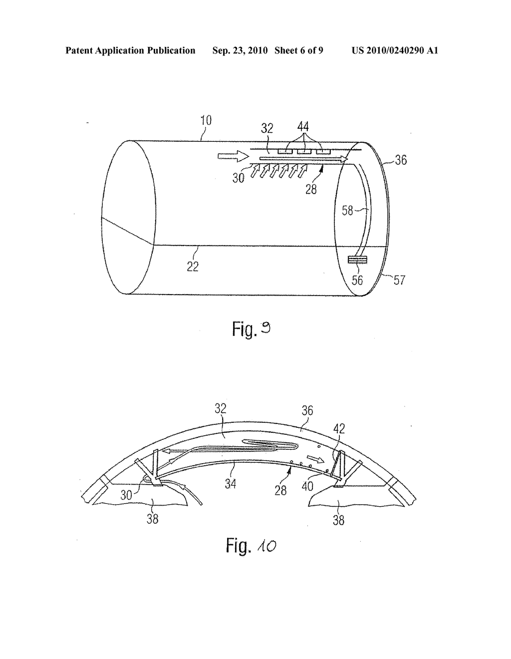 System And Method For Air Conditioning At Least One Partial Region Of An Airplane - diagram, schematic, and image 07