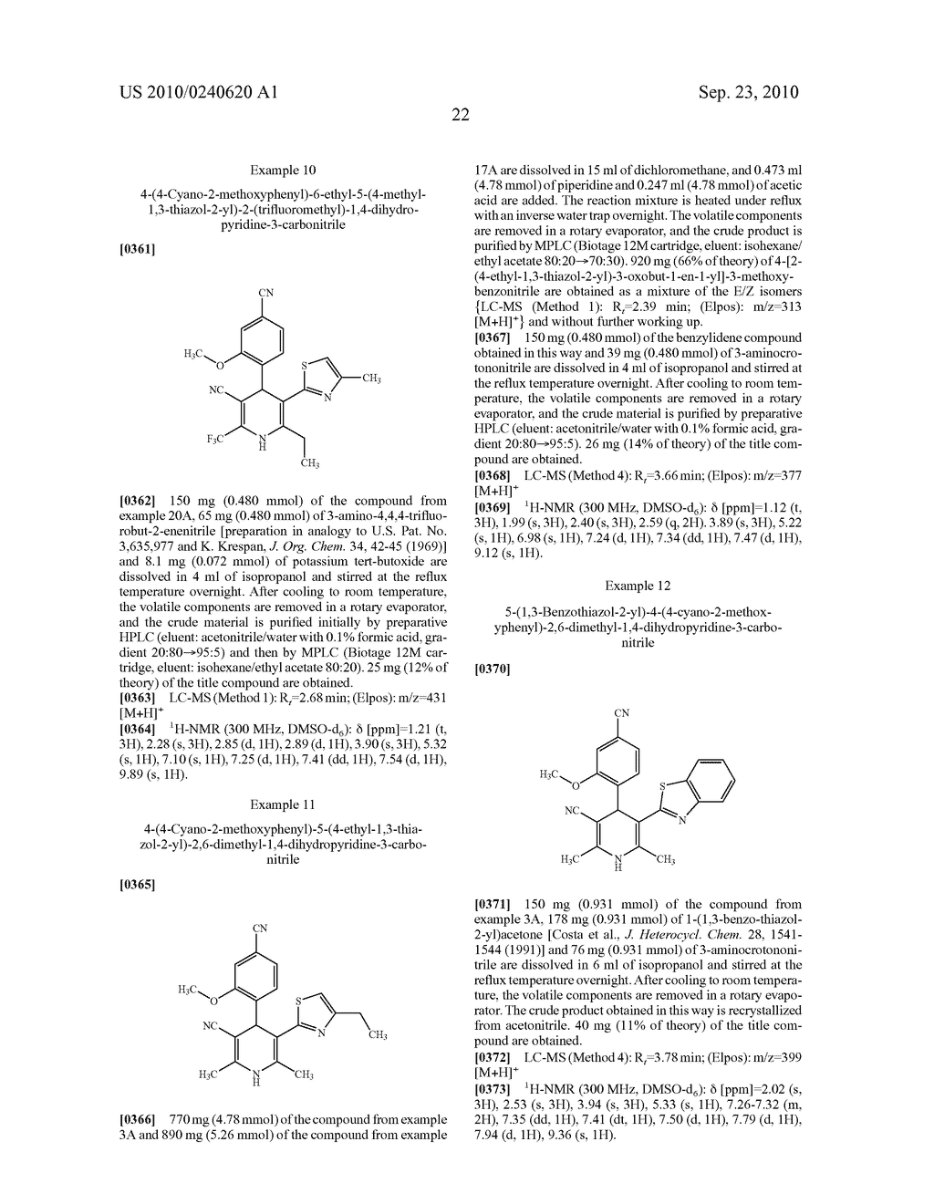 3-Cyano-5-thiazaheteroaryl-dihydropyridine and the use thereof for the treatment of cardiovascular diseases - diagram, schematic, and image 23