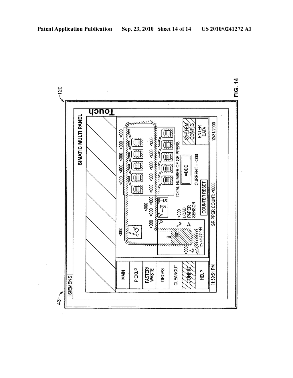 Automated product transporting and sorting apparatus and method - diagram, schematic, and image 15