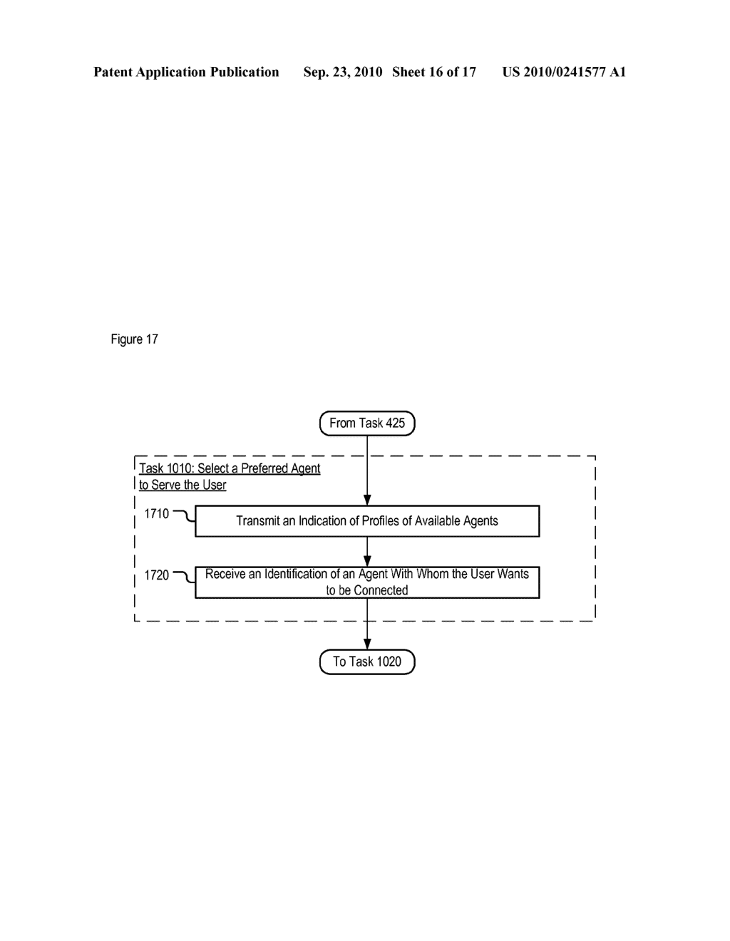Method for Routing Users to Contact Center Agents - diagram, schematic, and image 17