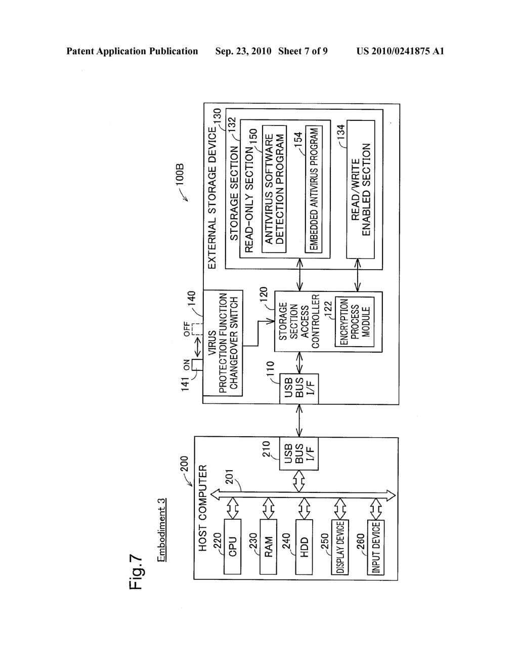 EXTERNAL STORAGE DEVICE AND METHOD OF CONTROLLING THE SAME - diagram, schematic, and image 08