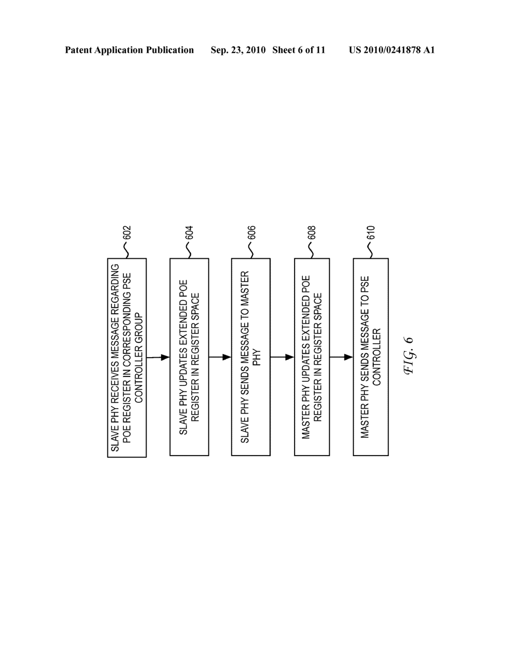 System and Method for Mirroring Power Over Ethernet Registers in a Physical Layer Device Over a Single Isolation Boundary - diagram, schematic, and image 07
