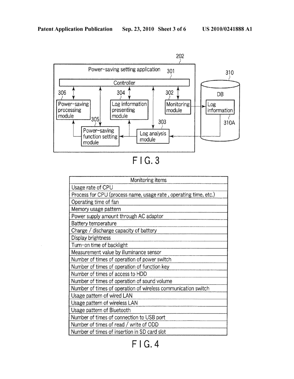 INFORMATION PROCESSING APPARATUS AND POWER-SAVING SETTING METHOD - diagram, schematic, and image 04