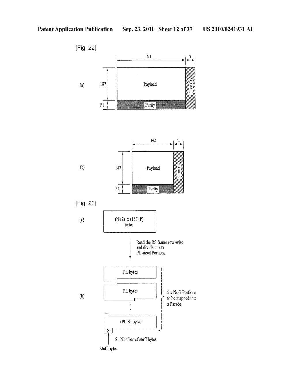 DIGITAL BROADCASTING SYSTEM AND METHOD OF PROCESSING DATA IN DIGITAL BROADCASTING SYSTEM - diagram, schematic, and image 13