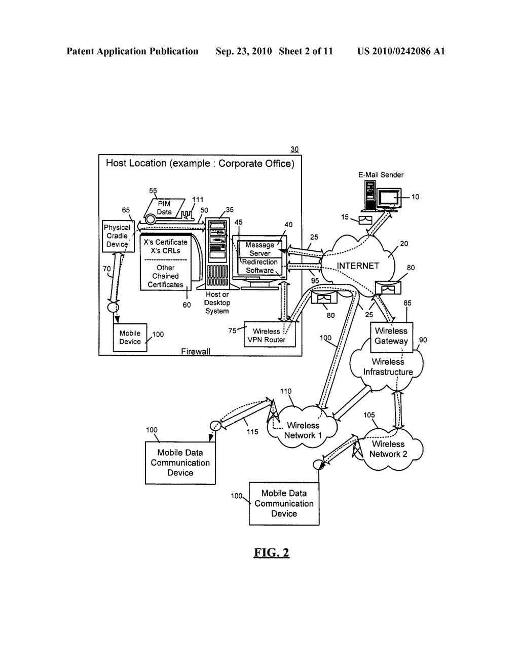 SYSTEM AND METHOD FOR HANDLING DATA TRANSFERS - diagram, schematic, and image 03