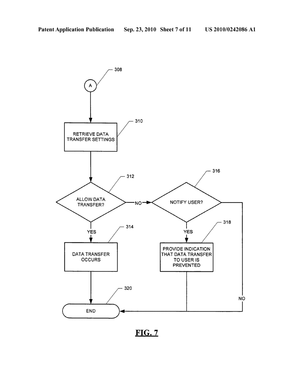SYSTEM AND METHOD FOR HANDLING DATA TRANSFERS - diagram, schematic, and image 08