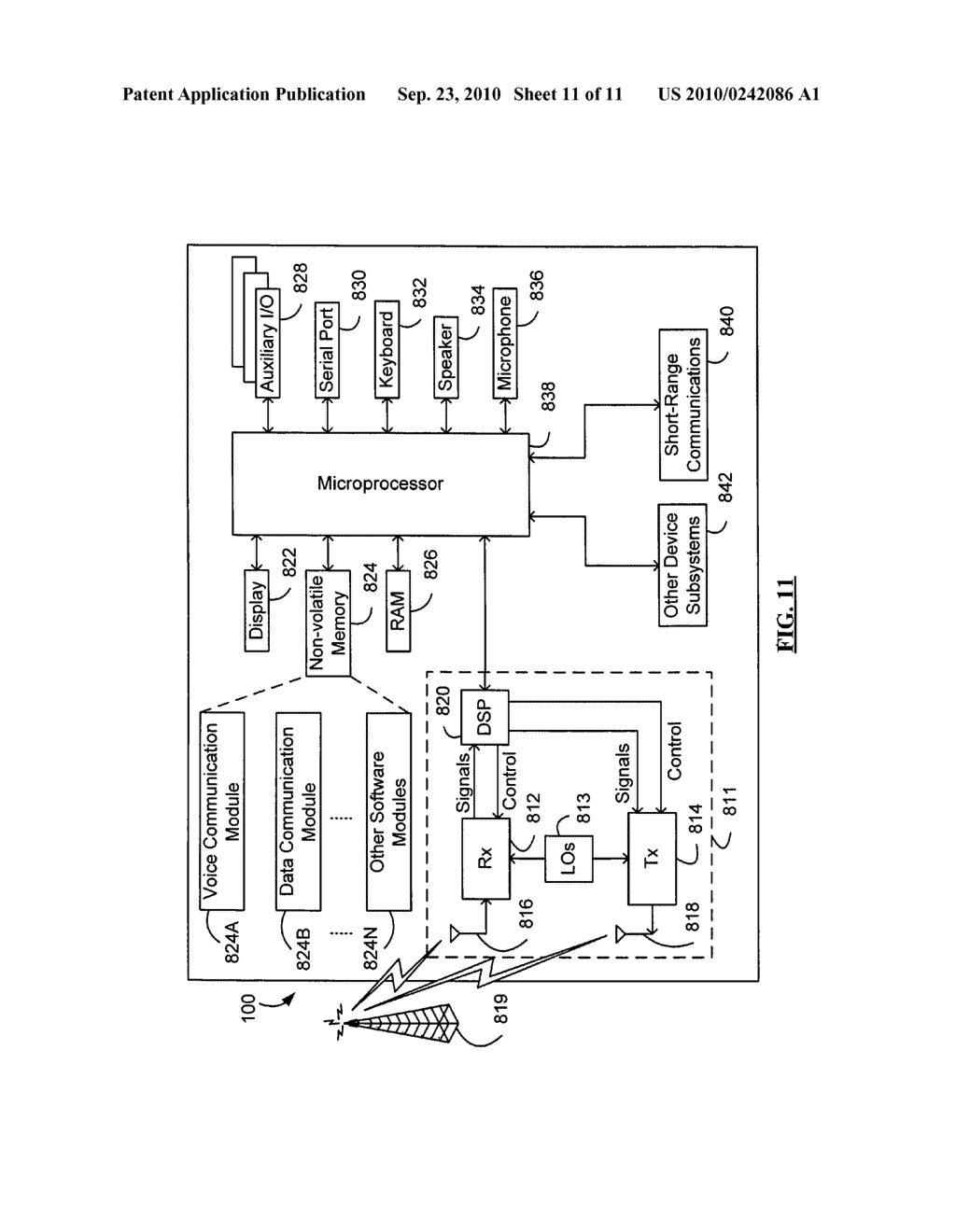 SYSTEM AND METHOD FOR HANDLING DATA TRANSFERS - diagram, schematic, and image 12