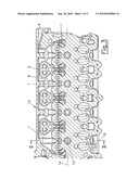 Cylinder head of an internal combustion engine diagram and image
