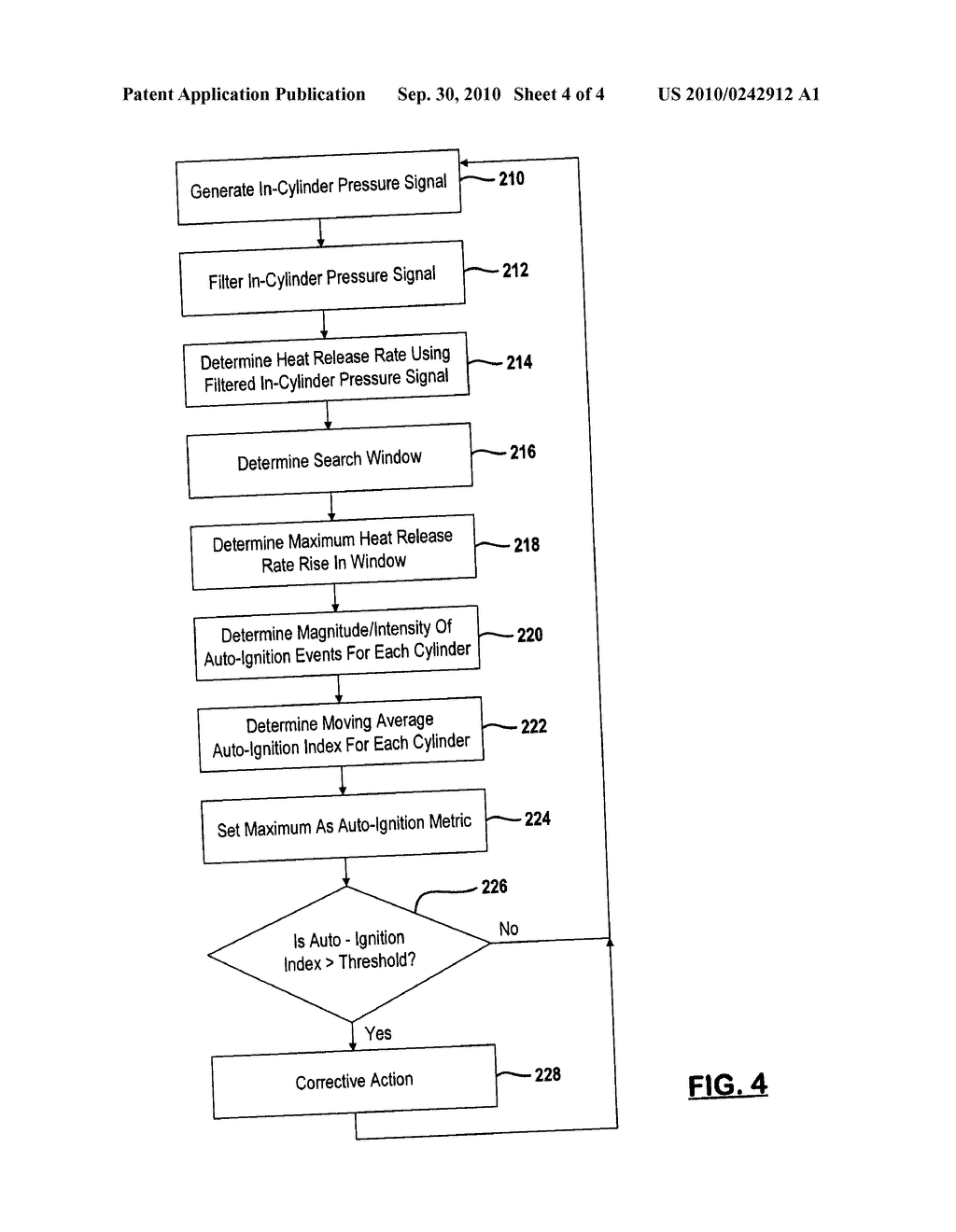 METHOD AND SYSTEM FOR DETECTING AND REDUCING ENGINE AUTO-IGNITION - diagram, schematic, and image 05