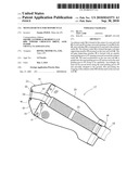 MUFFLER DEVICE FOR MOTORCYCLE diagram and image