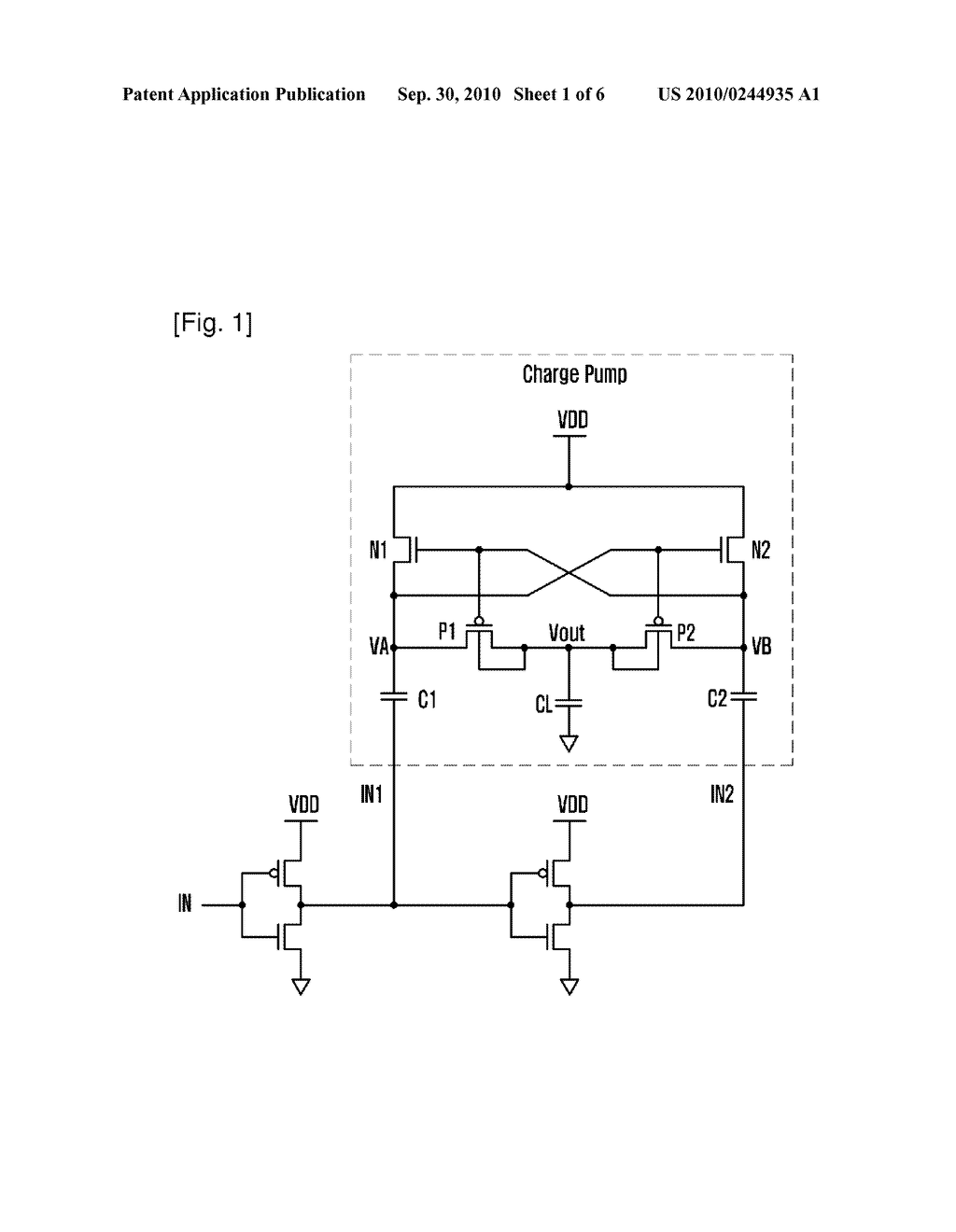 HIGH-VOLTAGE CMOS CHARGE PUMP - diagram, schematic, and image 02