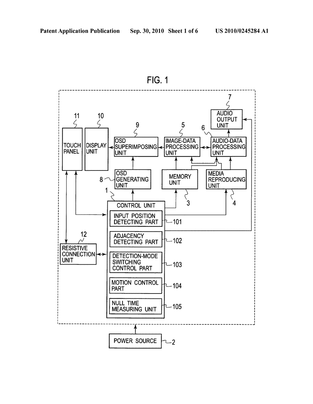 Input device and electronic device using the same - diagram, schematic, and image 02