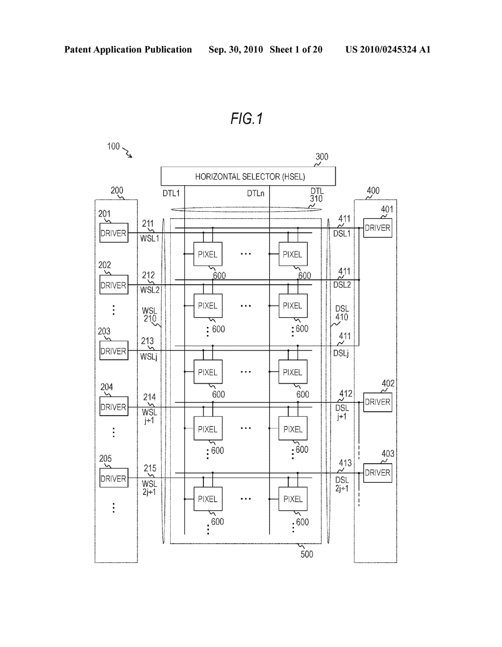 DISPLAY APPARATUS AND ELECTRONIC INSTRUMENT - diagram, schematic, and image 02