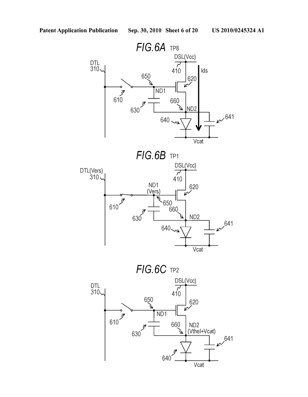 DISPLAY APPARATUS AND ELECTRONIC INSTRUMENT - diagram, schematic, and image 07