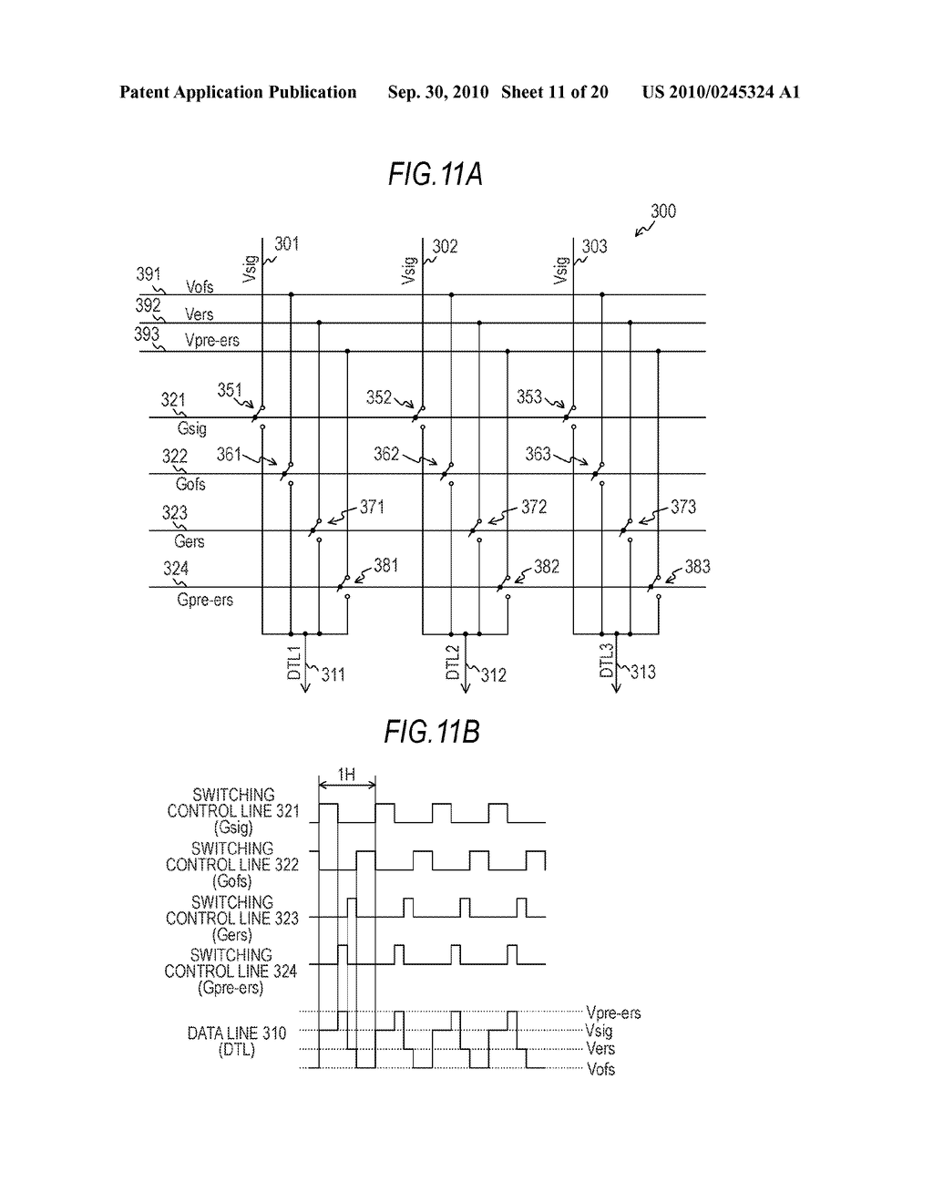 DISPLAY APPARATUS AND ELECTRONIC INSTRUMENT - diagram, schematic, and image 12
