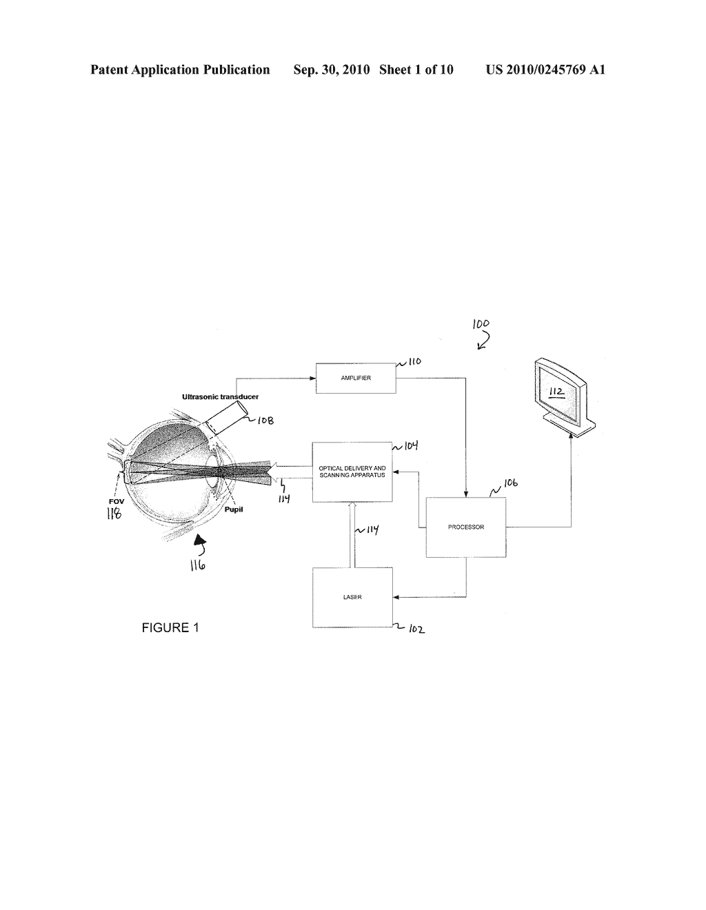 SYSTEMS AND METHODS FOR PHOTOACOUSTIC OPTHALMOSCOPY - diagram, schematic, and image 02