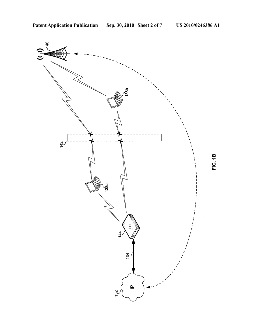 Method and System for Communicating Data Via a Mesh Network of Interconnected Femtocells - diagram, schematic, and image 03