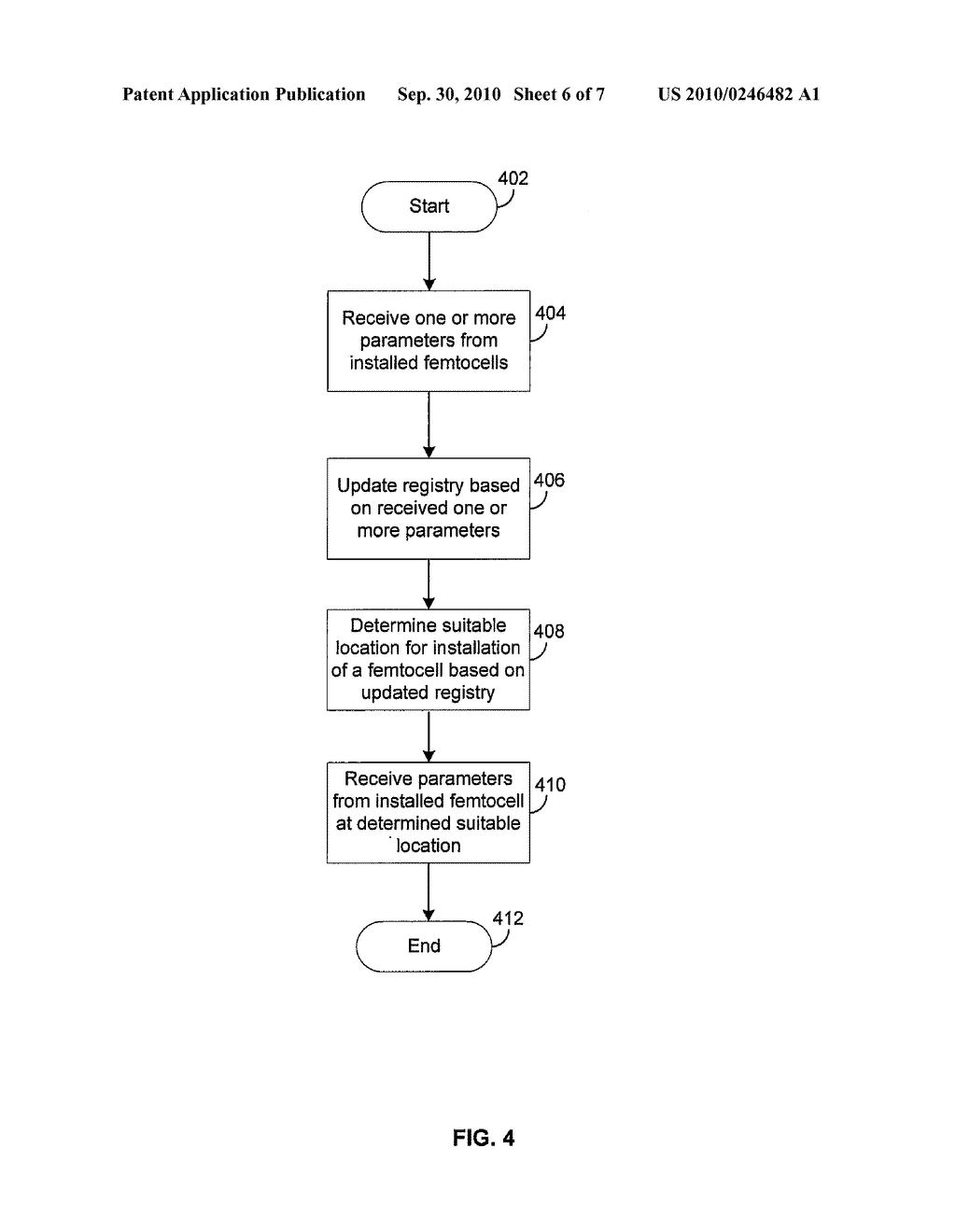 Method and System for Dynamic Adjustment of Power and Frequencies in a Femtocell Network - diagram, schematic, and image 07