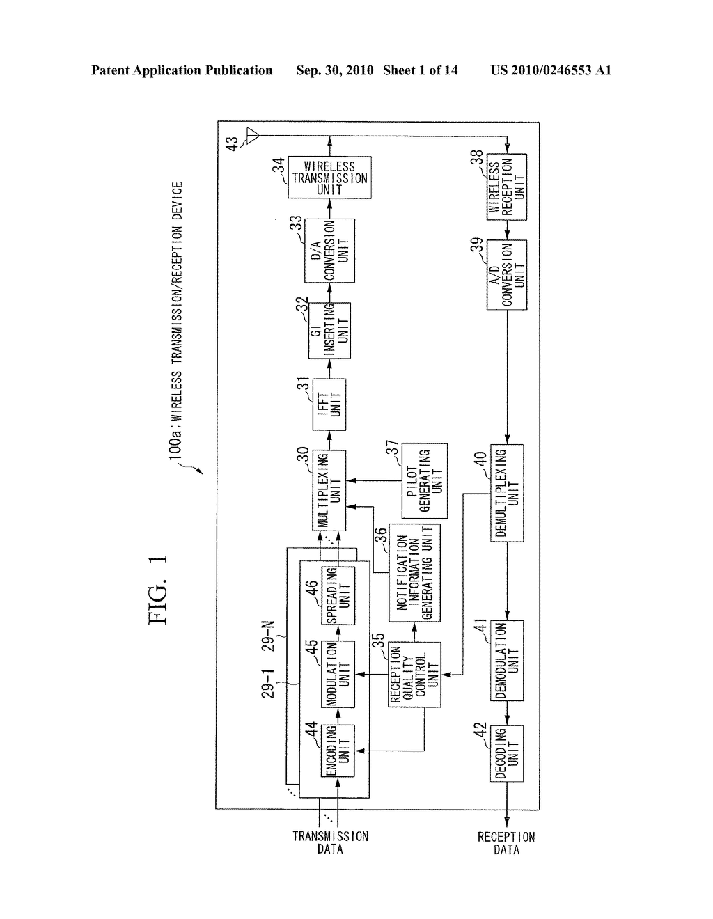 WIRELESS TRANSMISSION DEVICE, WIRELESS COMMUNICATION SYSTEM AND WIRELESS TRANSMISSION METHOD - diagram, schematic, and image 02