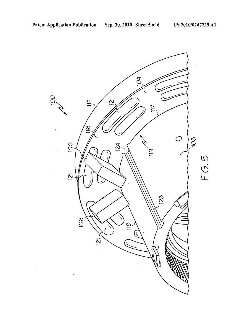 END RING FOR A VEHICULAR ELECTRIC MACHINE - diagram, schematic, and image 06