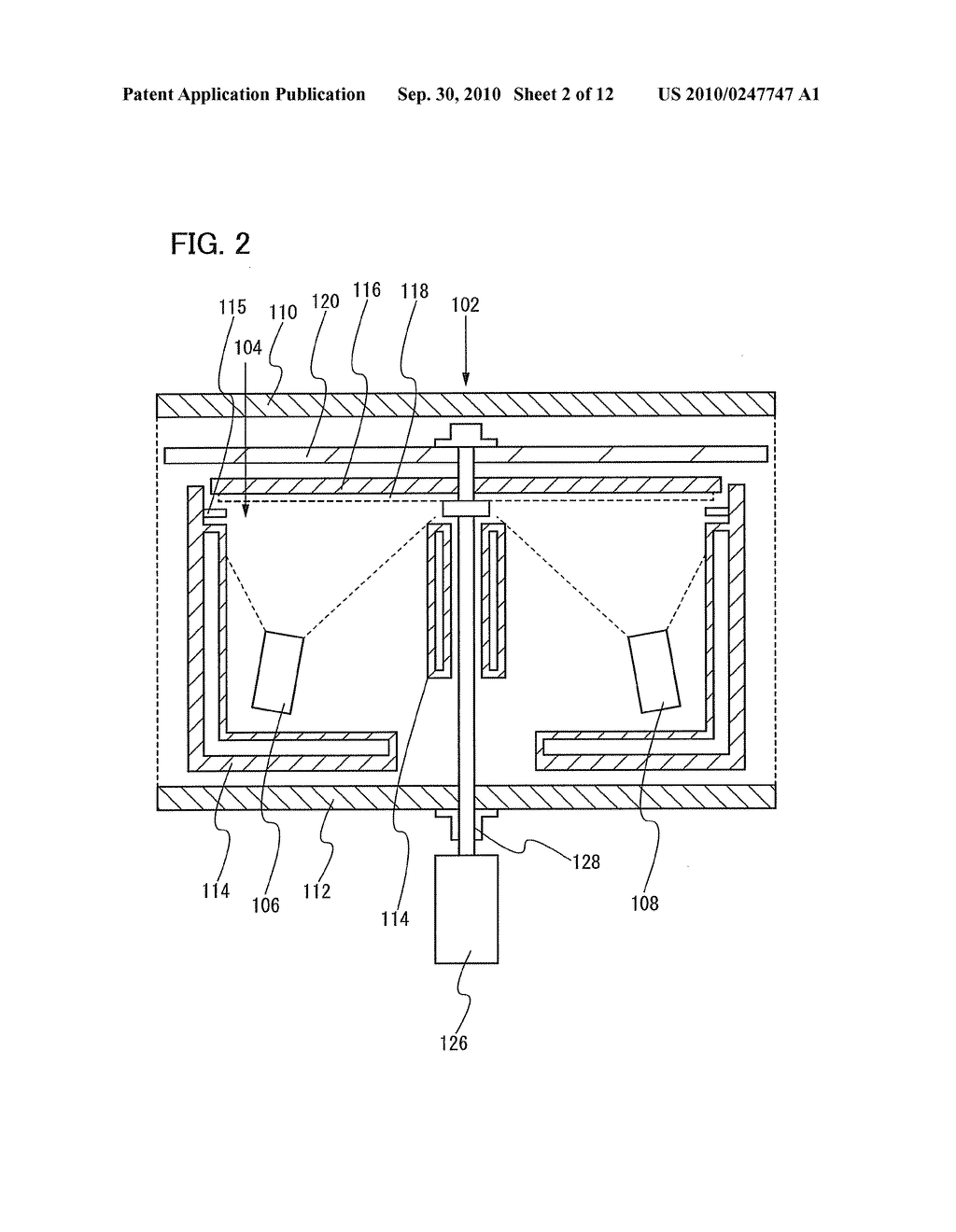 Film Deposition Apparatus, Method for Depositing Film, and Method for Manufacturing Lighting Device - diagram, schematic, and image 03
