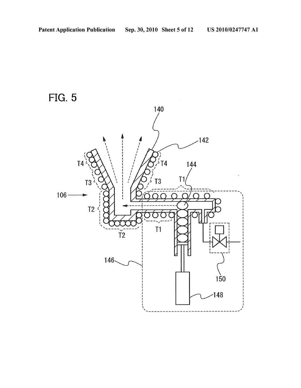 Film Deposition Apparatus, Method for Depositing Film, and Method for Manufacturing Lighting Device - diagram, schematic, and image 06