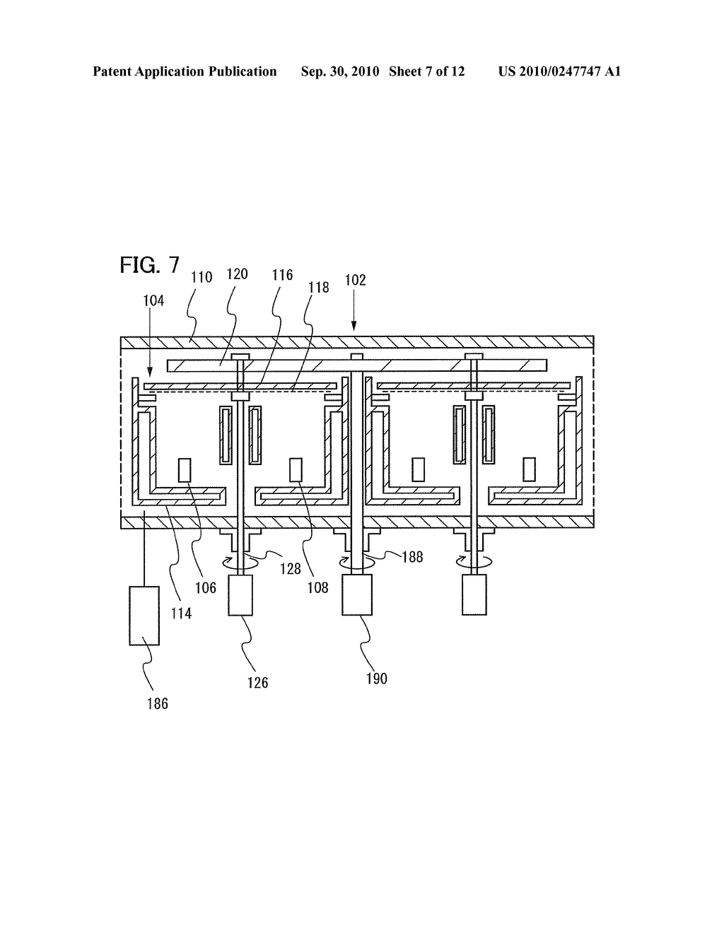 Film Deposition Apparatus, Method for Depositing Film, and Method for Manufacturing Lighting Device - diagram, schematic, and image 08