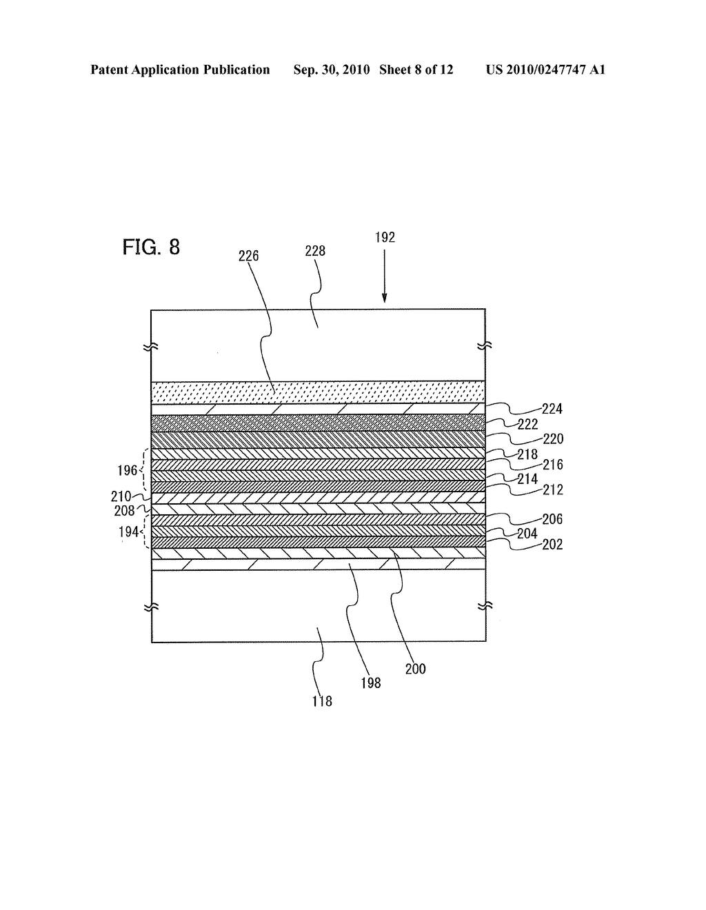 Film Deposition Apparatus, Method for Depositing Film, and Method for Manufacturing Lighting Device - diagram, schematic, and image 09