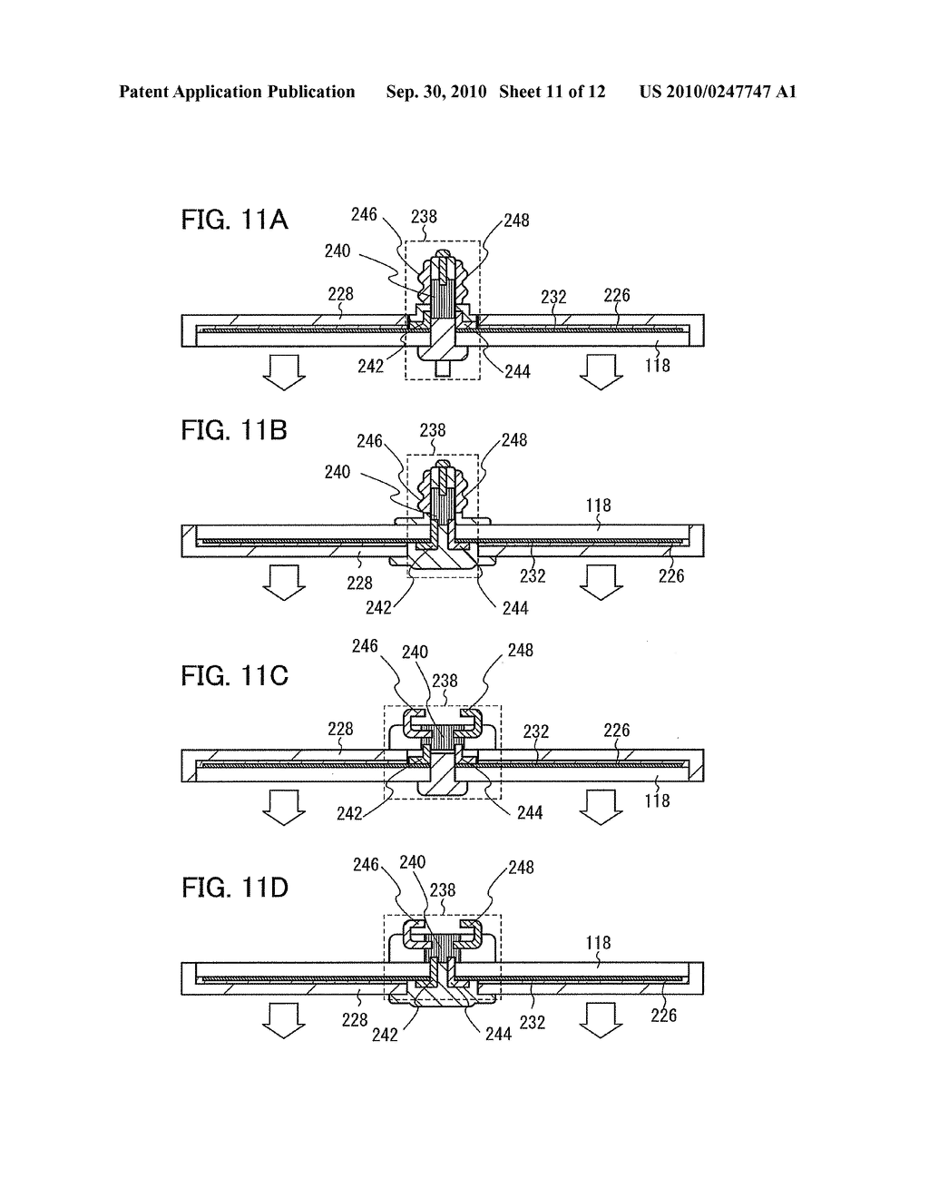 Film Deposition Apparatus, Method for Depositing Film, and Method for Manufacturing Lighting Device - diagram, schematic, and image 12