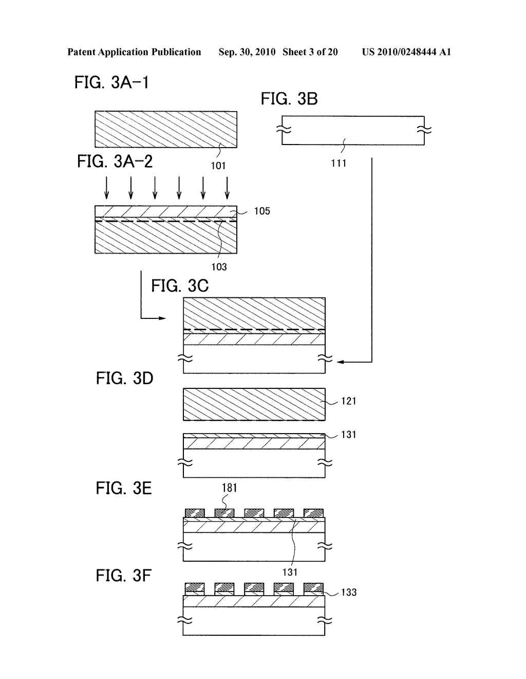 METHOD FOR MANUFACTURING SOI SUBSTRATE - diagram, schematic, and image 04