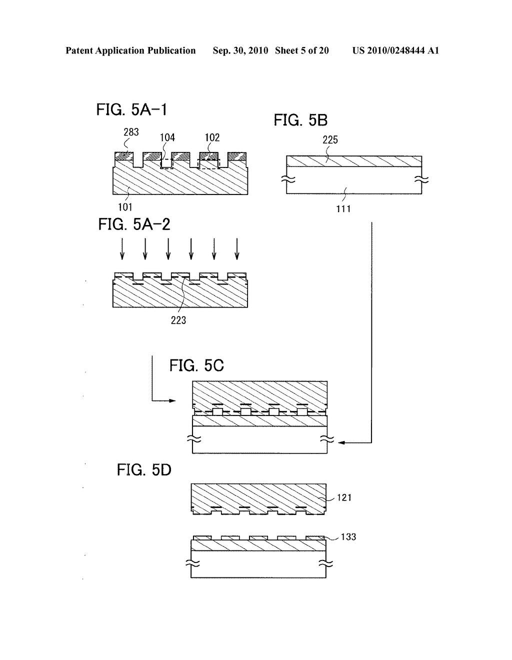 METHOD FOR MANUFACTURING SOI SUBSTRATE - diagram, schematic, and image 06
