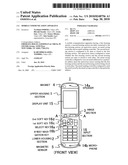 MOBILE COMMUNICATION APPARATUS diagram and image