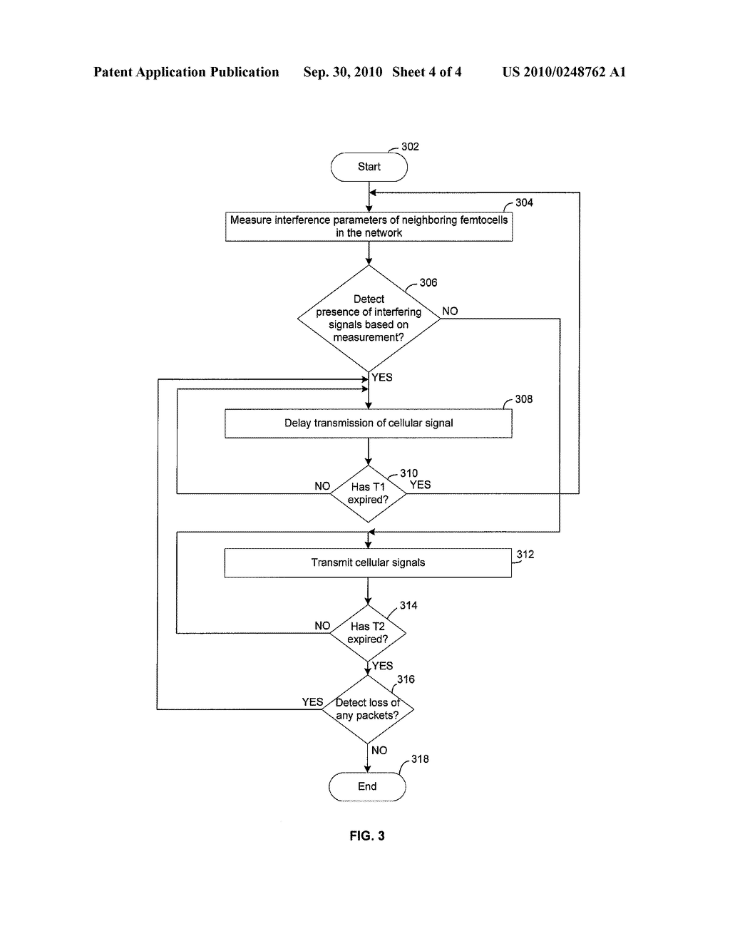 Method and System for Mitigating Interference Between a Plurality of Femtocells Utilizing Transmission Deferral - diagram, schematic, and image 05