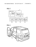 Vehicular device control system diagram and image