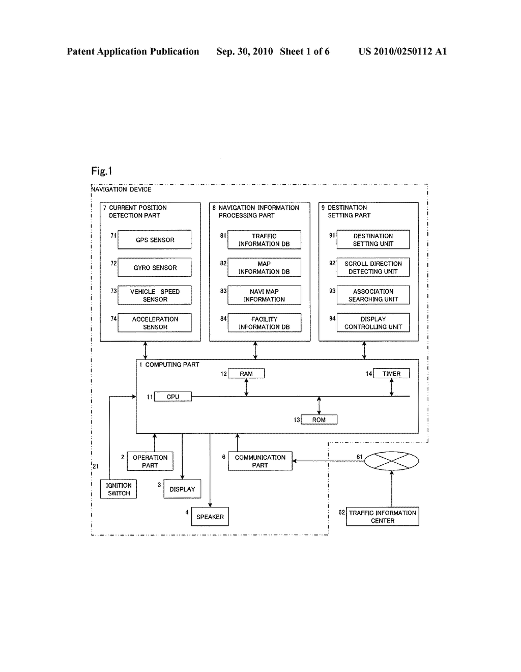 NAVIGATION DEVICE - diagram, schematic, and image 02