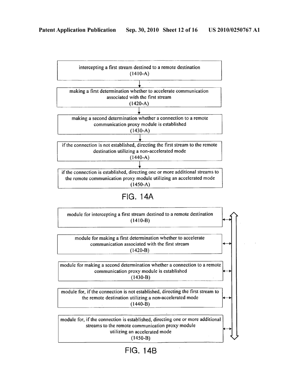 APPARATUS AND METHOD FOR ACCELERATING STREAMS THROUGH USE OF TRANSPARENT PROXY ARCHITECTURE - diagram, schematic, and image 13