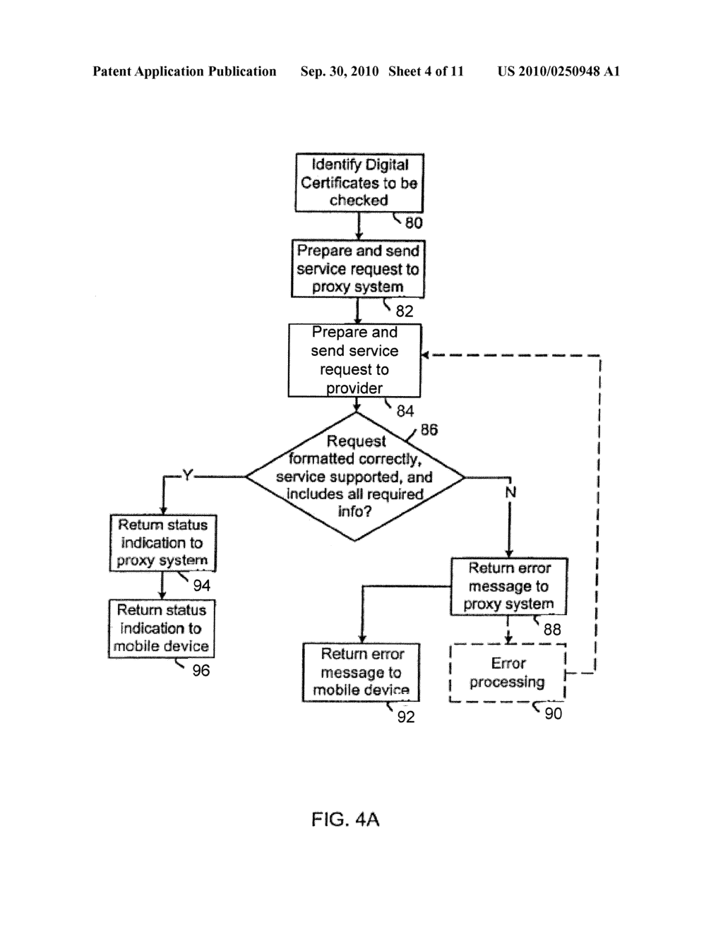 SYSTEM AND METHOD FOR CHECKING DIGITAL CERTIFICATE STATUS - diagram, schematic, and image 05