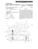STRUCTURE FOR LATERALLY MOVING A FOLDED FOLDING BICYCLE diagram and image