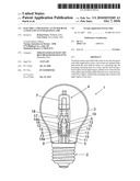 ELECTRIC LAMP HAVING AN OUTER BULB, A STEM AND AN INTEGRATED LAMP diagram and image