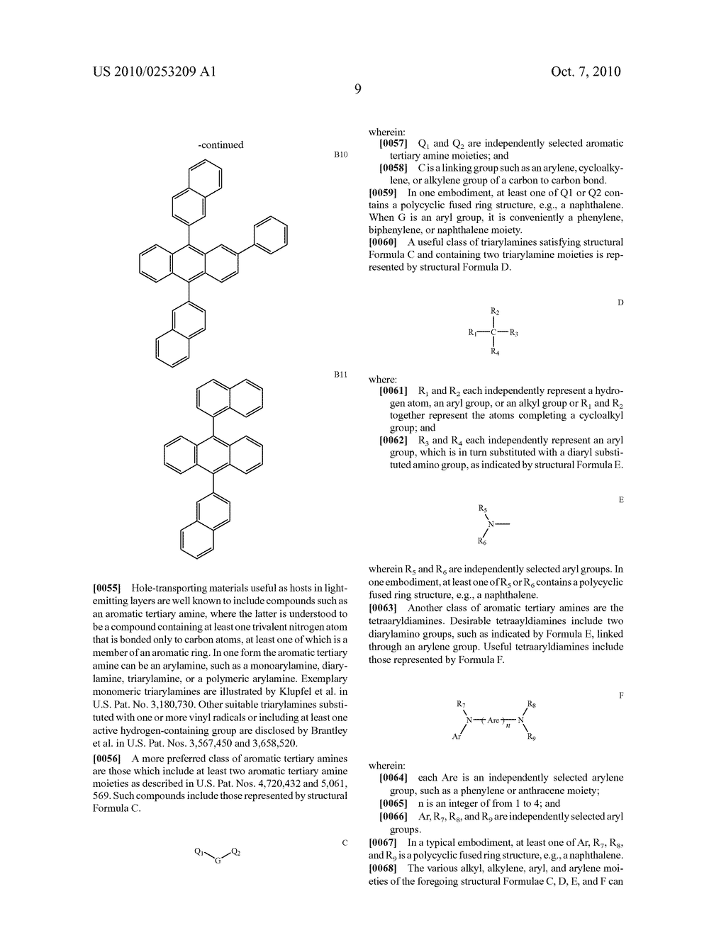 TANDEM WHITE OLED WITH EFFICIENT ELECTRON TRANSFER - diagram, schematic, and image 12