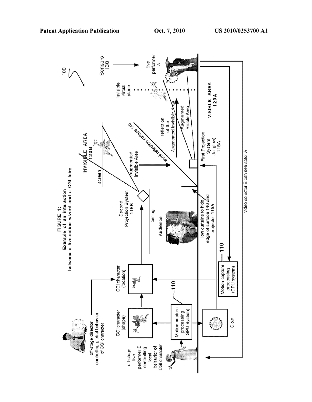 Real-Time 3-D Interactions Between Real And Virtual Environments - diagram, schematic, and image 02
