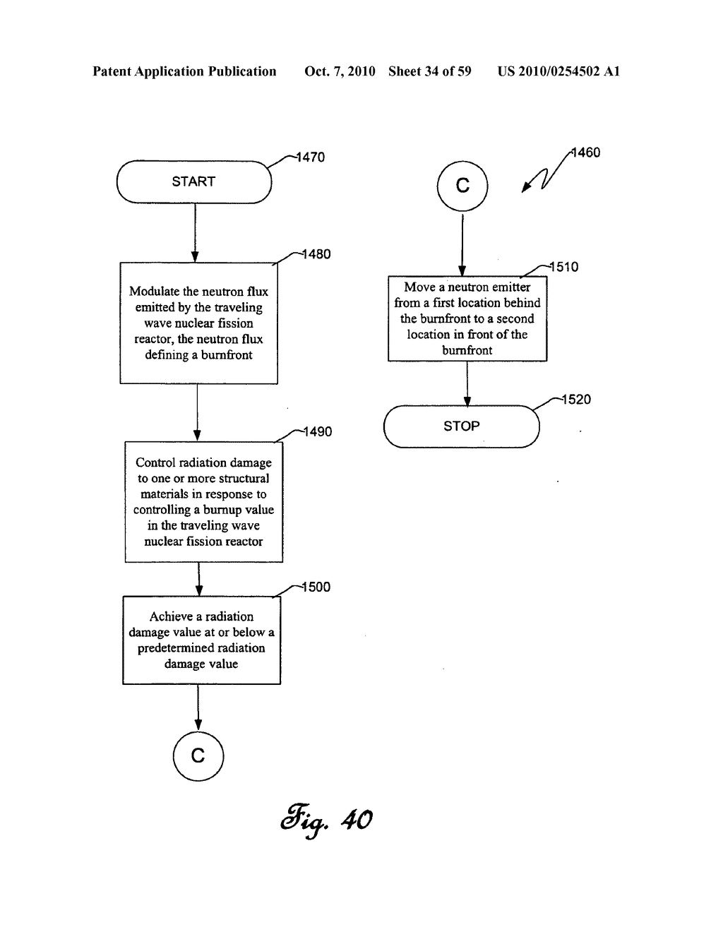 Traveling wave nuclear fission reactor, fuel assembly, and method of controlling burnup therein - diagram, schematic, and image 35