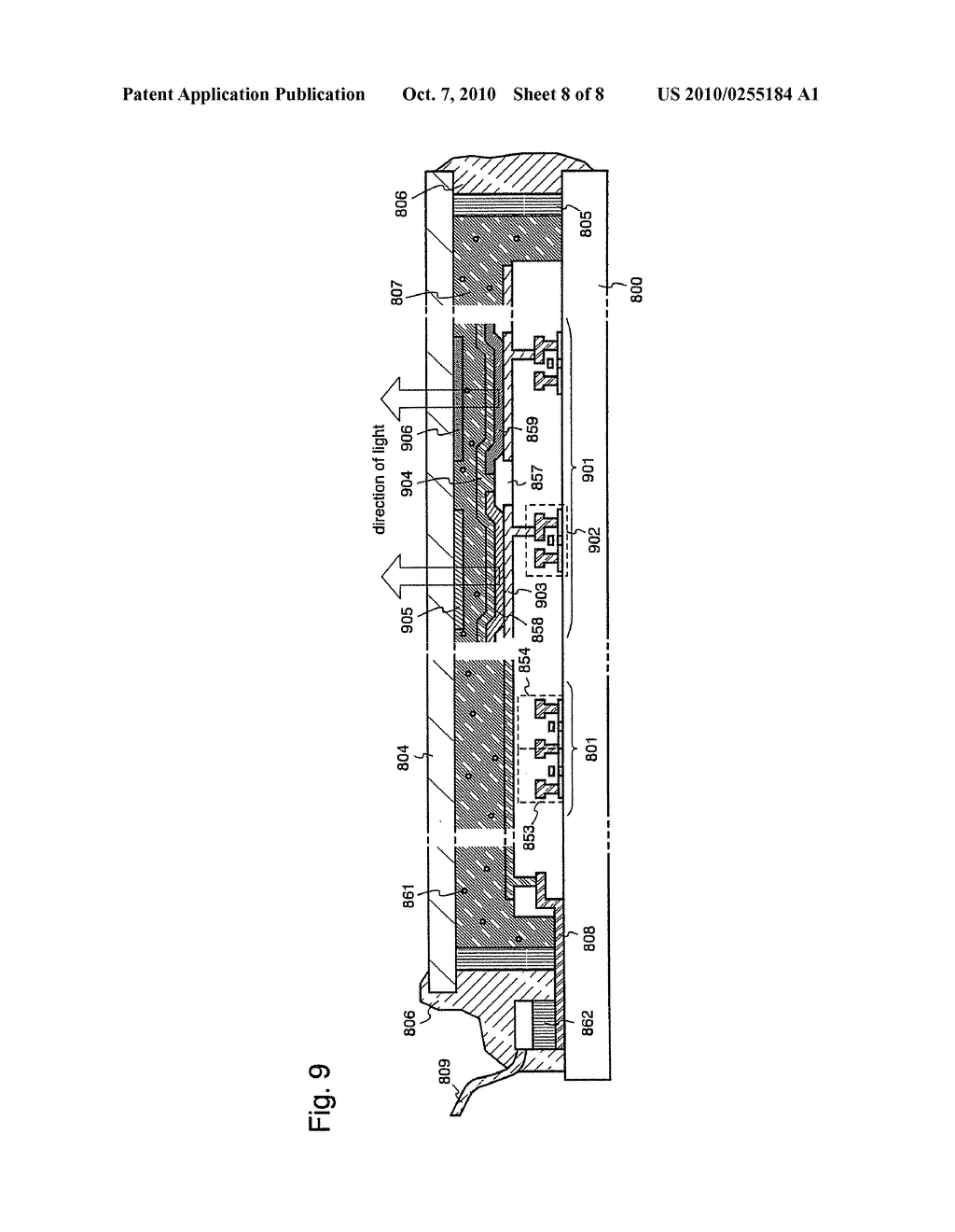Film Deposition Apparatus and a Method of Manufacturing a Light Emitting Device Using the Apparatus - diagram, schematic, and image 09