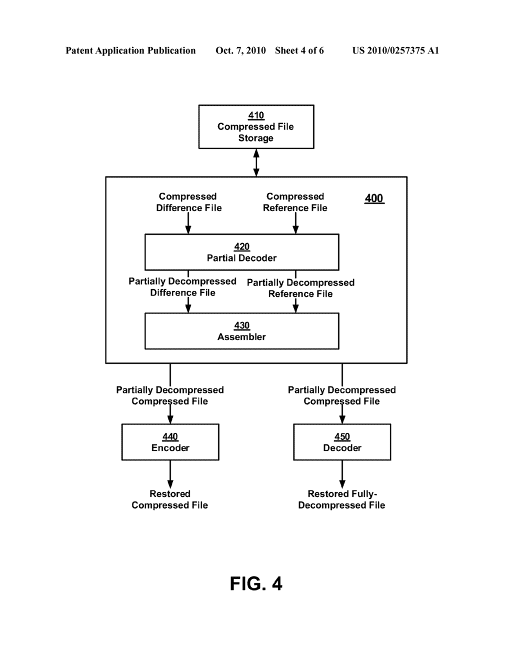 SYSTEM AND METHOD FOR COMPRESSING COMPRESSED DATA - diagram, schematic, and image 05
