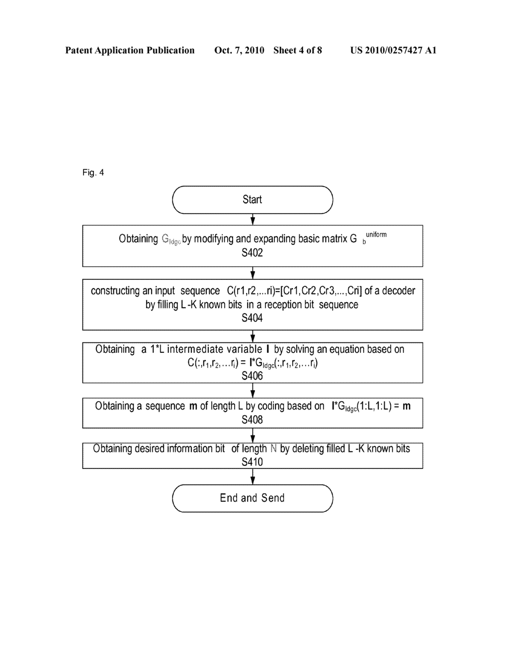 Coding method, coding device, decoding method and decoding device for low density generator matrix code - diagram, schematic, and image 05