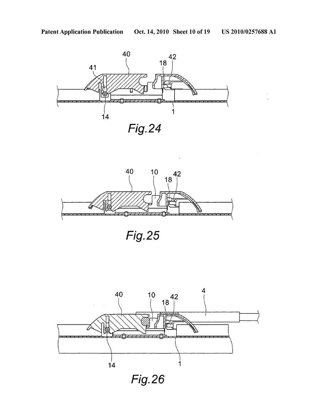 Saddle bracket for wiper adapter - diagram, schematic, and image 11